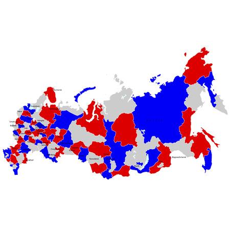 russland karte: Russland Karte L�nder