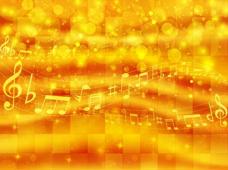 メモ背景音楽のスコア