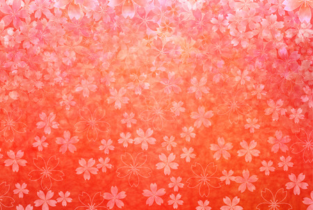 Cherry greeting cards background Vector