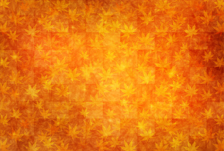 background pattern: Maple autumn leaves background