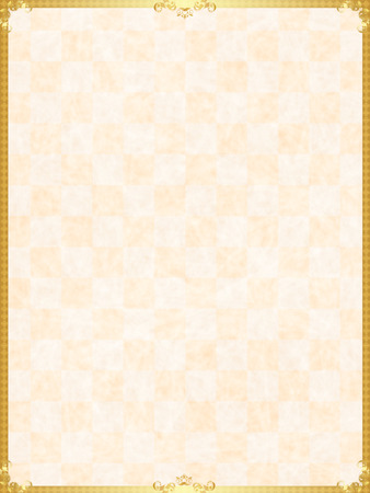 Japanese paper background frame Vectores
