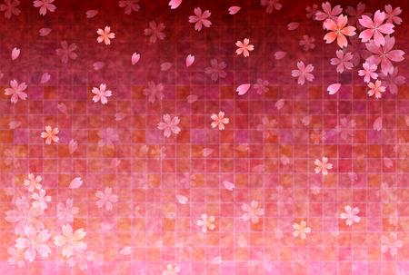 Contexte de fleurs de cerisier cartes de v?ux