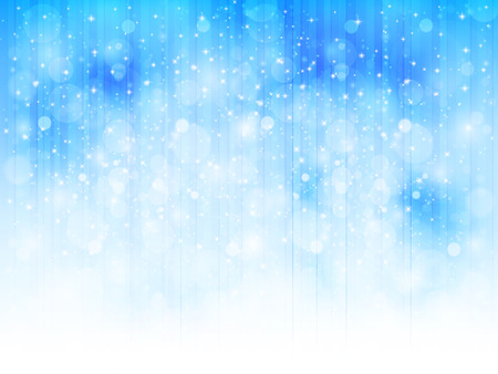 Illustrations landscape of snow