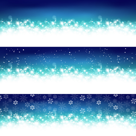 Background and light snow Illustration