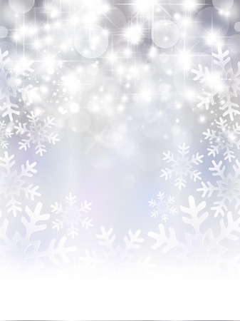 Snow light background