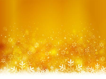 Schnee Weihnachten Hintergrund Standard-Bild - 33865228