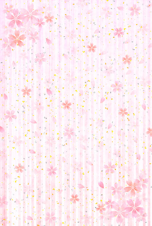 Cherry background greeting cards Vector
