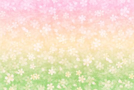 paper background: Cherry Japans papier achtergrond Stock Illustratie