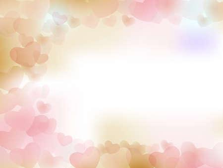 バレンタイン ハートの背景