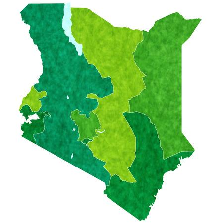 kenya: Kenya country map