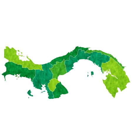 panama: Panama country map
