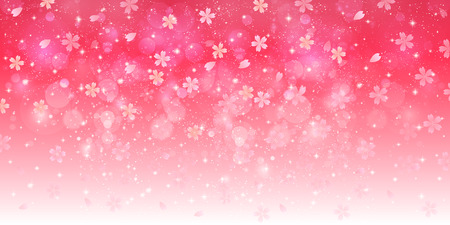 pink: Cherry blossom background