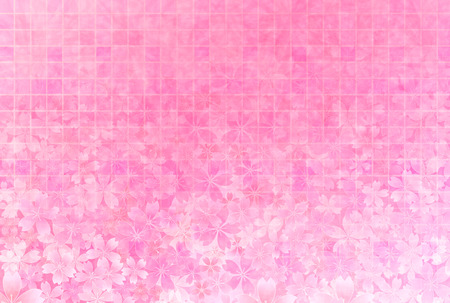 light pink: Cherry blossom background