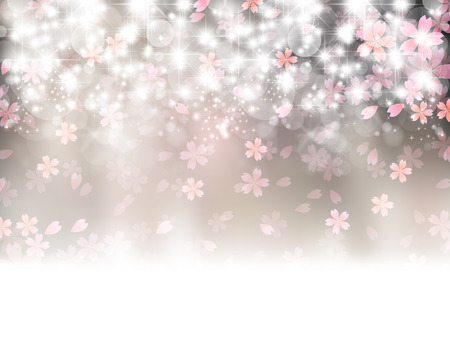 flower tree: Cherry blossom background