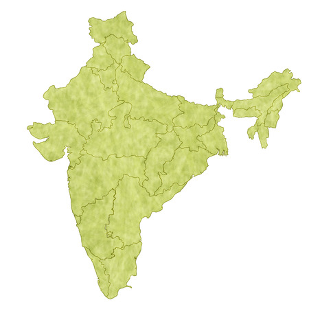 India map countries Vector