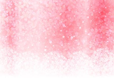 Fondo de los cerezos en flor Foto de archivo - 35522817