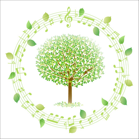 young leaf: Leaf tree note