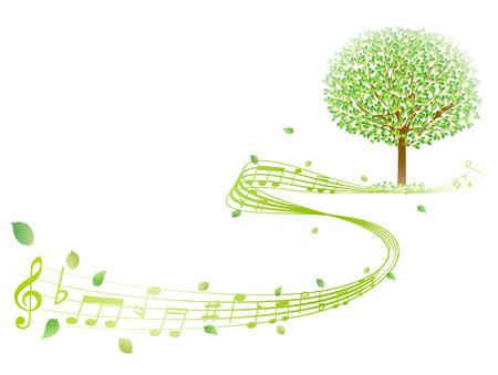 aoba: Leaf tree note