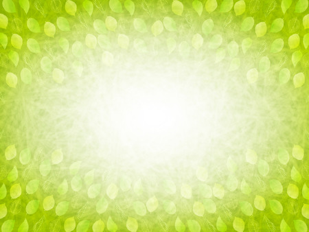 Leaf fresh green background 向量圖像