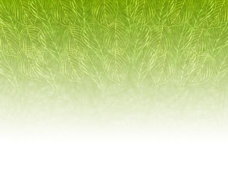 Blad verse groene achtergrond Vector Illustratie