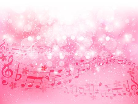 Cherry note background