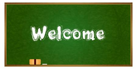 school frame: Blackboard school frame