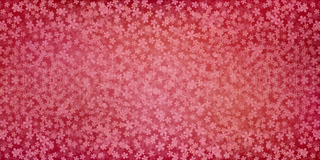 Cherry Japanese paper background 矢量图像