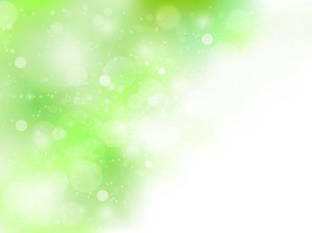 Fresh green sky background 일러스트