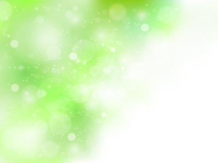 Fresh green sky background Illustration