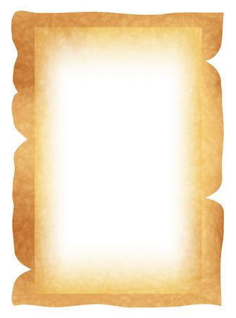 waste paper: Waste paper paper frame