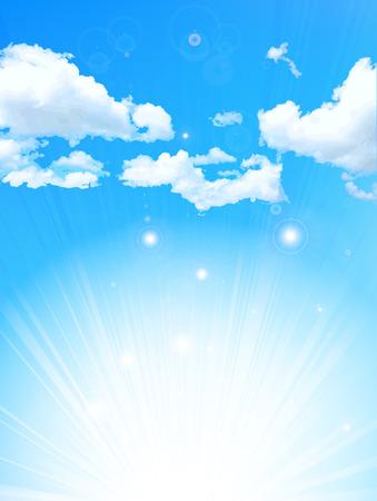 Himmel Landschaftshintergrund