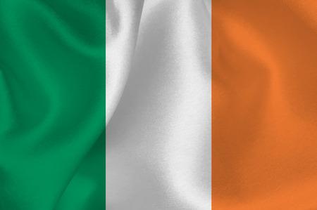 bandera de irlanda: Bandera Bandera de Irlanda Vectores