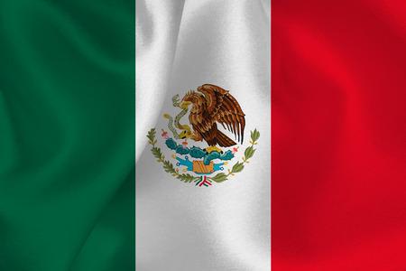 Mexico Flag Flag Illustration
