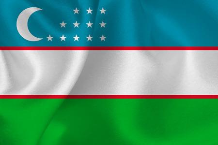 oezbekistan: Uzbekistan flag flag