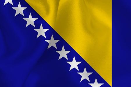 bosnia and herzegovina: Bosnia Herzegovina national flag