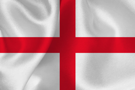 bandiera inghilterra: England flag Bandiera Vettoriali