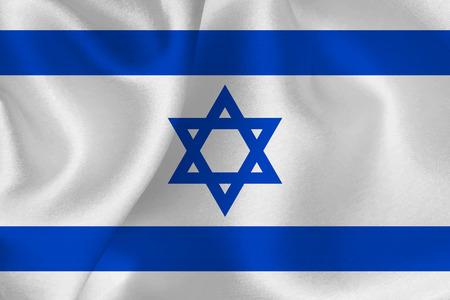 Israel flag flag  イラスト・ベクター素材