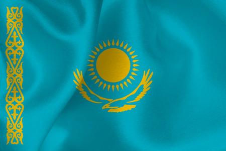 flag: Kazakhstan flag flag Illustration