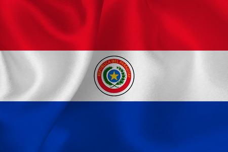 bandera de paraguay: Bandera Paraguay Vectores