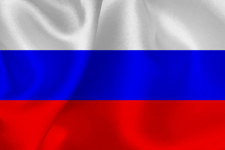 russia flag: Russia flag flag Illustration