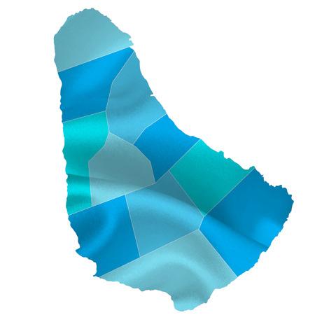 barbados: Barbados map countries