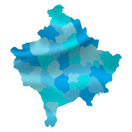 kosovo: Kosovo map countries