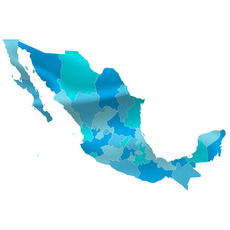 Mexico map countries