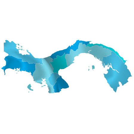 Panama map countries