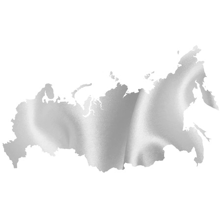 russia map: Russia map silhouette