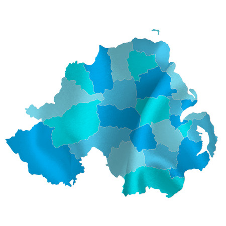 northern: Northern Ireland map countries