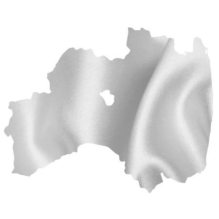 fukushima: Fukushima map Silk