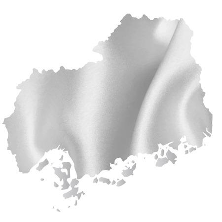 hiroshima: Hiroshima map Silk