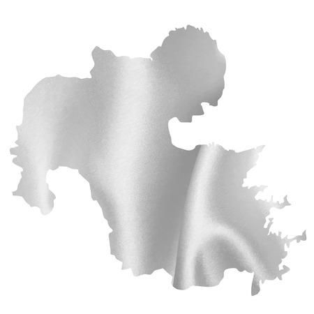 silver silk: Oita map Silk