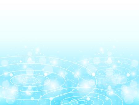 ripples: Pond ripples background Illustration
